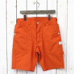 SASSAFRAS『FALL LEAF GARDENER PANTS 1/2(WEEDS POPLIN)』(ORANGE)