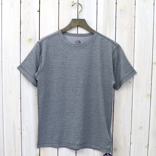 『Mesh H/S Tee』(Light Gray)