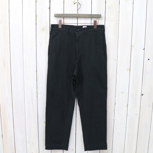 『FRENCH CAFE PANTS 2』(BLACK)