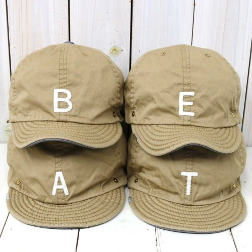 DECHO×ANACHRONORM『BEAT INITIAL CAPS』(BEIGE)
