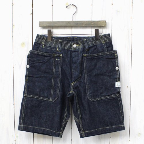『FALL LEAF SPRAYER PANTS 1/2』(INDIGO)