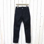 SASSAFRAS『SPRAYER PANTS(GABARDINE)』(NAVY)