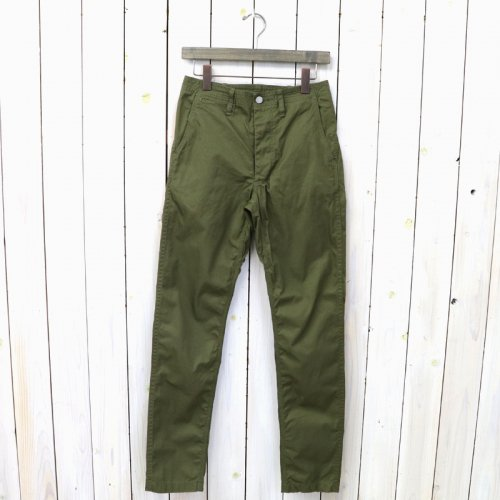 『SPRAYER PANTS(GABARDINE)』(OLIVE)