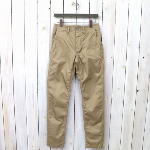 『SPRAYER PANTS(GABARDINE)』(BEIGE)