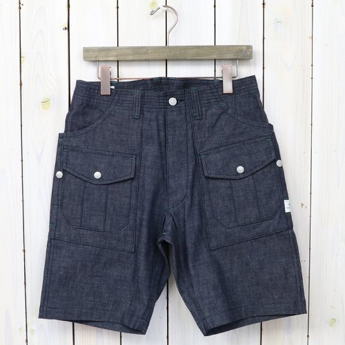 『BOTANICAL SCOUT PANTS 1/2(8oz CHAMBRAY)』(INDIGO)