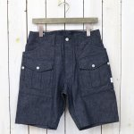 SASSAFRAS『BOTANICAL SCOUT PANTS 1/2(8oz CHAMBRAY)』(INDIGO)