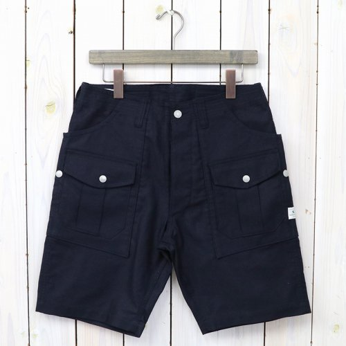 『BOTANICAL SCOUT PANTS 1/2(SUMMER CORDUROY)』(NAVY)