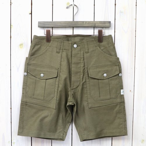 『BOTANICAL SCOUT PANTS 1/2(SUMMER CORDUROY)』(OLIVE)
