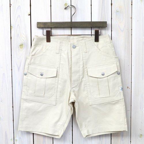 『BOTANICAL SCOUT PANTS 1/2(SUMMER CORDUROY)』(IVORY)