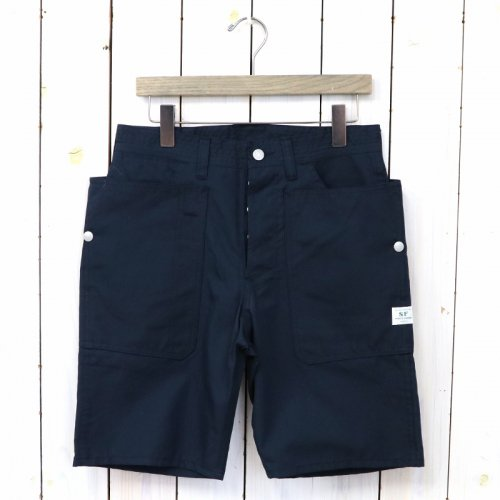 『FALL LEAF PANTS 1/2(NYLON OXFORD)』(NAVY)