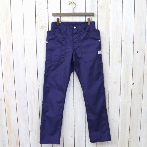 『FALL LEAF PANTS(T/C POPLIN)』(NAVY BLUE)
