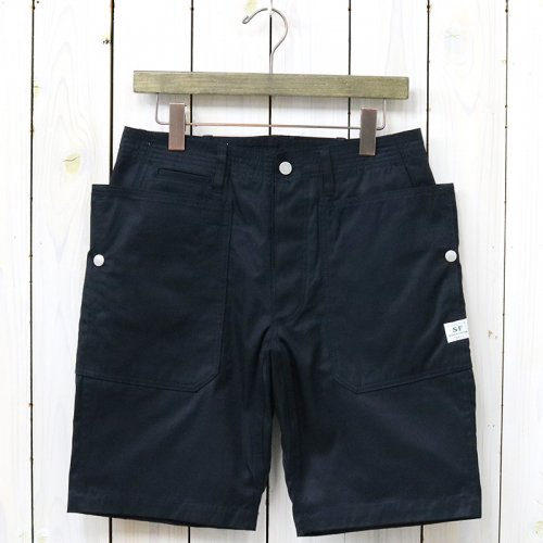 『FALL LEAF SPRAYER PANTS 1/2(GABARDINE)』(NAVY)