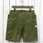 SASSAFRAS『FALL LEAF SPRAYER PANTS 1/2(GABARDINE)』(OLIVE)