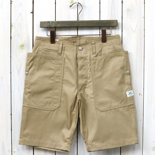 『FALL LEAF SPRAYER PANTS 1/2(GABARDINE)』(BEIGE)