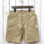 SASSAFRAS『FALL LEAF SPRAYER PANTS 1/2(GABARDINE)』(BEIGE)