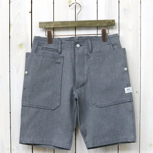 『FALL LEAF SPRAYER PANTS 1/2(OXFORD)』(HEATHER GRAY)