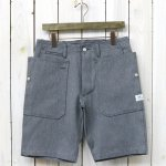 SASSAFRAS『FALL LEAF SPRAYER PANTS 1/2(OXFORD)』(HEATHER GRAY)