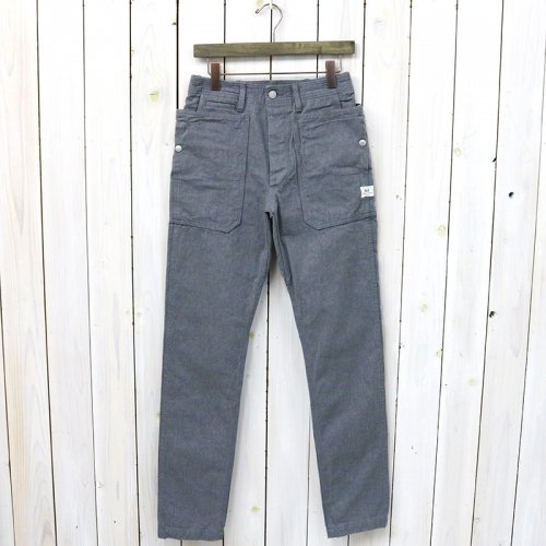 『FALL LEAF SPRAYER PANTS(OXFORD)』(HEATHER GRAY)