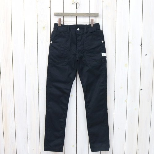 『FALL LEAF SPRAYER PANTS(GABARDINE)』(NAVY)
