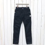 SASSAFRAS『FALL LEAF SPRAYER PANTS(GABARDINE)』(NAVY)