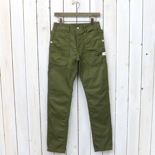 『FALL LEAF SPRAYER PANTS(GABARDINE)』(OLIVE)