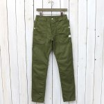 SASSAFRAS『FALL LEAF SPRAYER PANTS(GABARDINE)』(OLIVE)