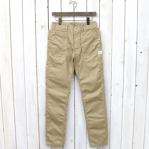 『FALL LEAF SPRAYER PANTS(GABARDINE)』(BEIGE)