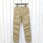 SASSAFRAS『FALL LEAF SPRAYER PANTS(GABARDINE)』(BEIGE)