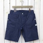 SASSAFRAS『FALL LEAF SPRAYER PANTS 1/2(8oz WP DENIM)』(INDIGO)