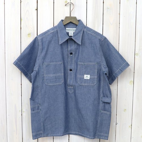 『GARDENER SHELL HALF 1/2(5oz CHAMBRAY)』(BLUE)