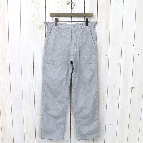【会員様限定SALE】ENGINEERED GARMENTS『Fatigue Pant-Cotton Twill』(H.Grey)