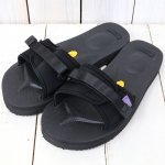 Suicoke× NEPENTHES Purple Label『Slide-In Sandal w/A-B Vibram』(Black)
