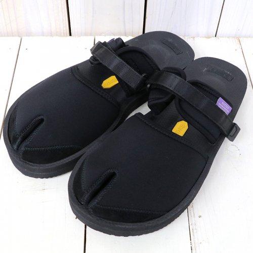 Suicoke× NEPENTHES Purple Label『Split Toe Sandal w/A-B Vibram』(Black)