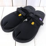 Suicoke× NEPENTHES Purple Label『Split Toe Sandal w/A-B Vibram』(Black)