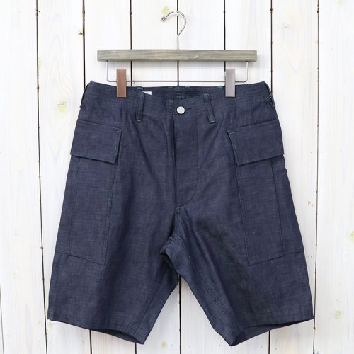『TRUG PAD PANTS 1/2(8oz DENIM)』(INDIGO)