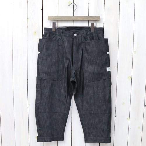『FALL LEAF GARDENER PANTS 2/3(8oz DENIM)』(BLACK)
