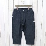 SASSAFRAS『FALL LEAF GARDENER PANTS 2/3(8oz DENIM)』(INDIGO)