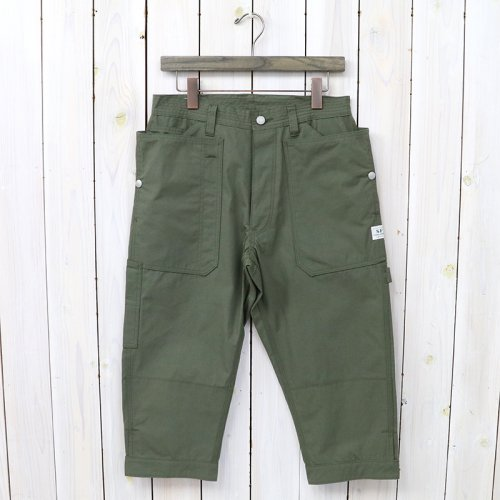 『FALL LEAF GARDENER PANTS 2/3(CORDURA OXFORD)』(OLIVE)