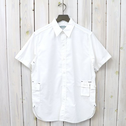 『G.D.U. SHIRT 1/2(CORDURA OXFORD)』(WHITE)