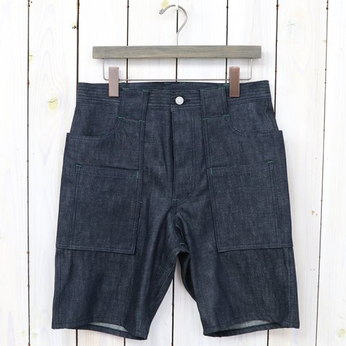 『WEEDS PANTS 1/2(8oz DENIM)』(INDIGO)