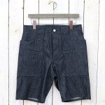 SASSAFRAS『WEEDS PANTS 1/2(8oz DENIM)』(INDIGO)