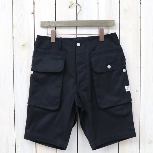 『WEEDS & GRASS PANTS 1/2(GABARDINE)』(NAVY)