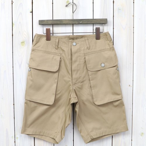 『WEEDS & GRASS PANTS 1/2(GABARDINE)』(BEIGE)