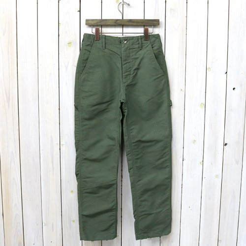 『Logger Pant-Cotton Double Cloth』(Olive)