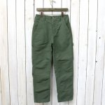 ENGINEERED GARMENTS『Logger Pant-Cotton Double Cloth』(Olive)