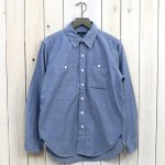 ENGINEERED GARMENTS『Work Shirt-Cotton Chambray』