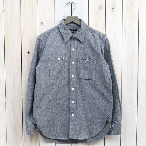 ENGINEERED GARMENTS『Work Shirt-Solid Flannel』(H.Grey)