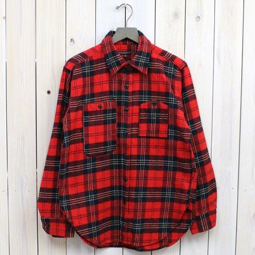 ENGINEERED GARMENTS『Work Shirt-Plaid Flannel』(Red/Black)