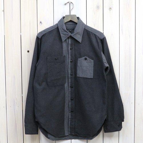 『Work Shirt-Big HB St.』(Grey)