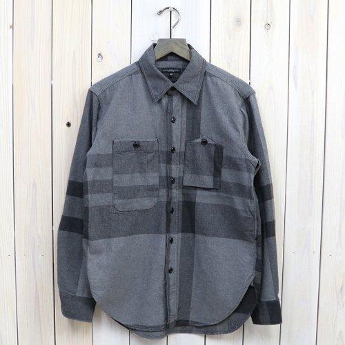 『Work Shirt-Big Plaid』(Grey)